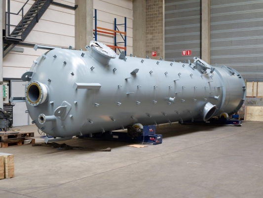 Another pressure vessel has left the building